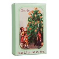 God Jul såpe 50gr - juletre med barn